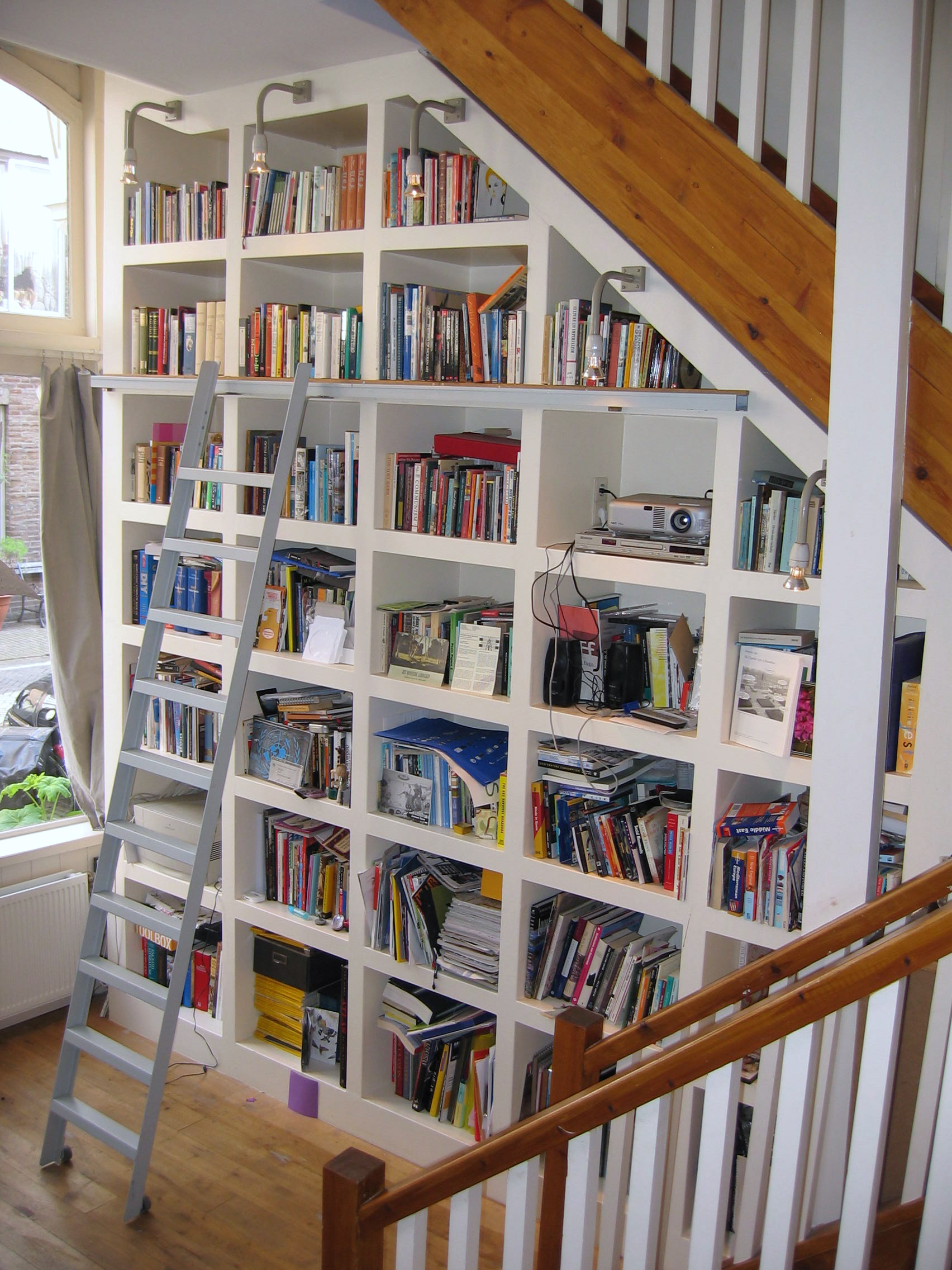 boekenkastwand