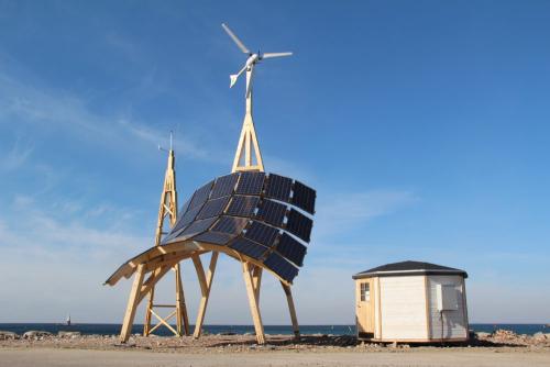 eco logisch windmolen